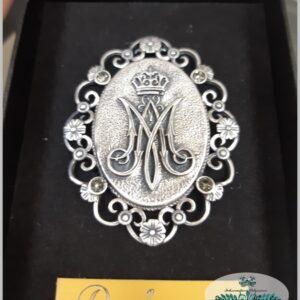 Medalla Virgen Dalmau Plata env./ Oro envejecido A6*02L9004030
