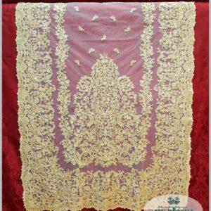 Oro.Crudo Oro Tul Mantilla M7-02442080